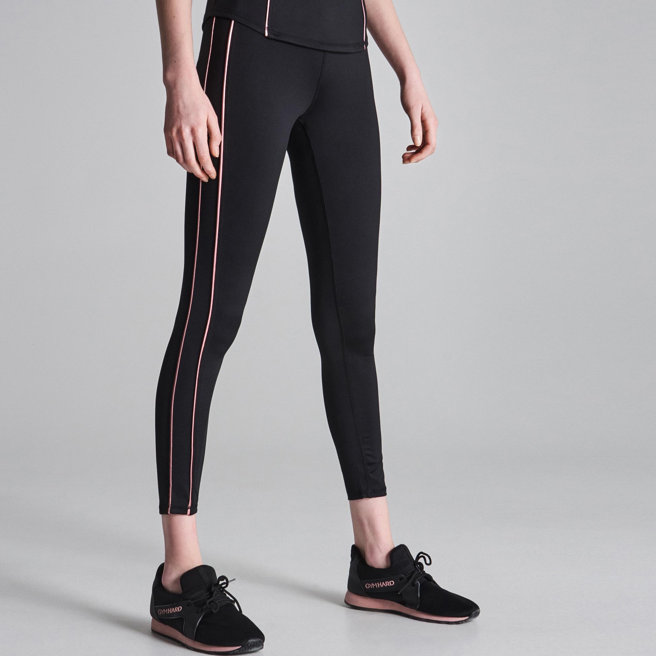 bb4304983 Sinsay - Legginsy Gym Hard - Czarny Spodnie - {Shoperia} Sinsay
