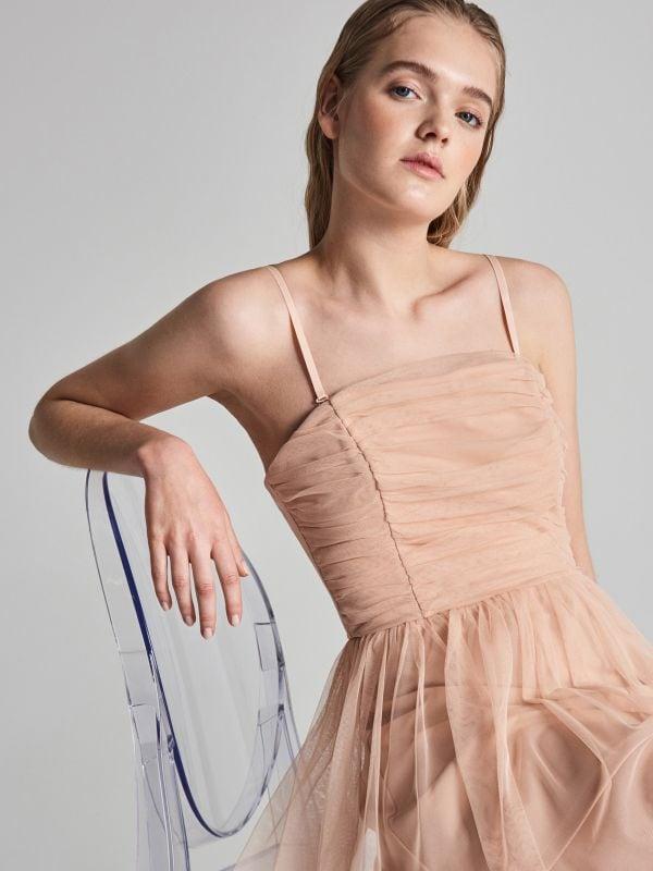 93067eba1ece Šaty so dlhými rukávmi · Zvonové šaty - ružová - VP401-03X - SINSAY