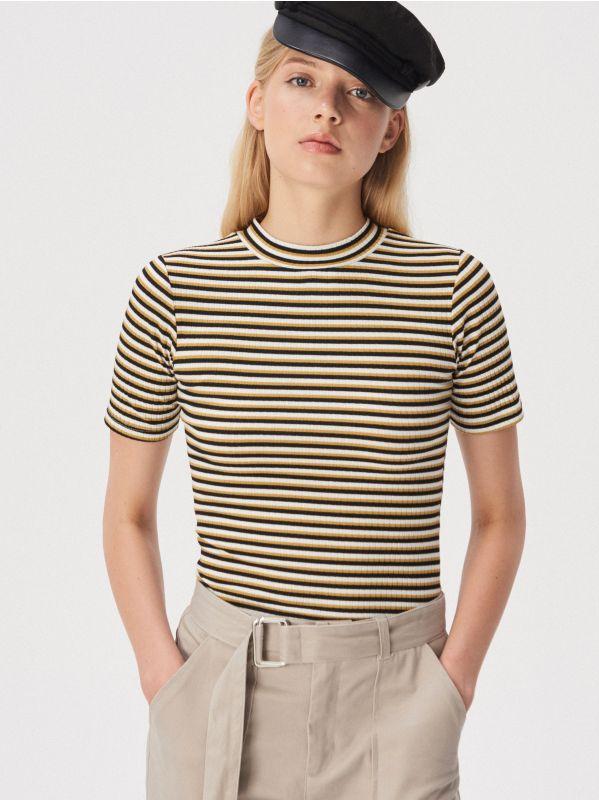 02b641b49487c6 T-shirty damskie Sinsay - Najmodniejsze nadruki