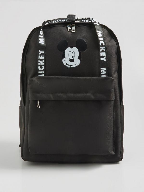 591ade0ffa40e3 Torebka listonoszka z pomponem · Plecak Mickey Mouse - czarny - WH011-99X -  SINSAY